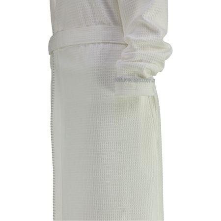 Cawö Frottier Lago fürdőköpeny wafle fehér fehér 32 34  8bb29180ff