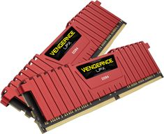 Corsair Vengeance LPX Red 16GB (2x8GB) DDR4 2666 (CMK16GX4M2A2666C16R)