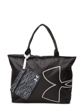 Under Armour Big Logo Tote Black White White