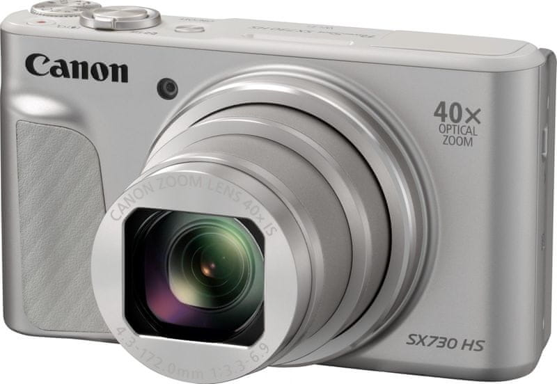 Canon PowerShot SX730 Travel Kit Silver