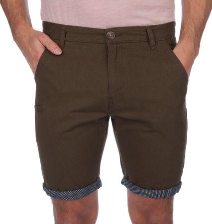 Brave Soul moške kratke hlače Hansenspot1 XL kaki