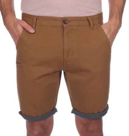 Brave Soul moške kratke hlače Hansenspot1 XL rjava