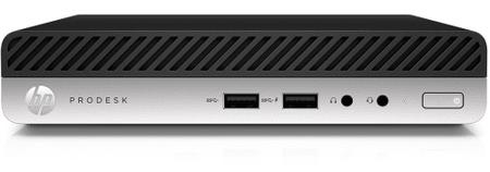 HP mini namizni računalnik ProDesk 400 G3 DM i5-7500T/8GB/256GB SSD/HD Graphics 630/Win10Pro (1EX82EA)
