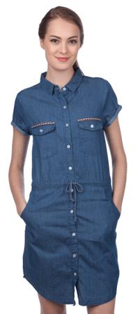 Brave Soul ženska obleka Tita XS modra