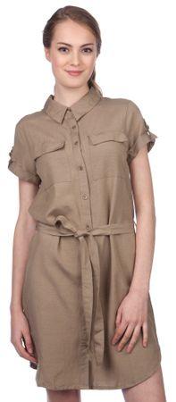 Brave Soul dámské šaty Allen M khaki