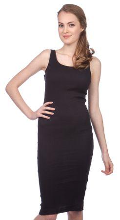 Brave Soul ženska obleka Ribbypka1 L črna