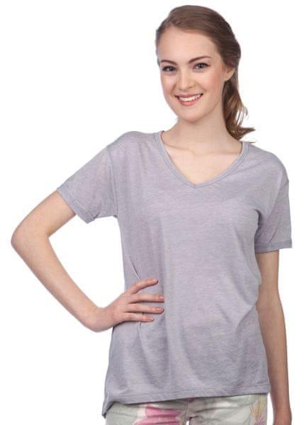 Brave Soul dámské tričko Viv XS šedá