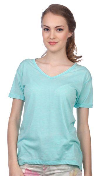 Brave Soul dámské tričko Viv M tyrkysová