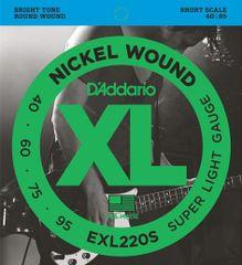 Daddario EXL220S Struny pro baskytaru