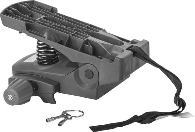 Hamax Caress Plus - Samostatný adaptér na nosič uzamykatelný