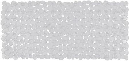 Spirella Bezpečnostná predložka RIVERSTONE 75x36 cm, clear
