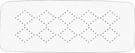 Spirella ALASKA biztonsági alátét white 71x36 cm