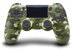 SONY PS4 DualShock 4 Green cammo V2