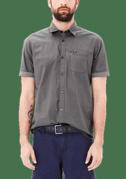 s.Oliver pánská košile XXXL šedá