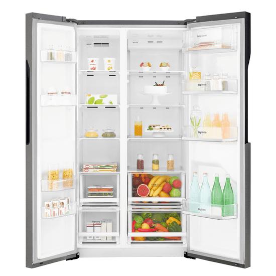 LG americká lednička GSB360BASZ + 10 let záruka na kompresor