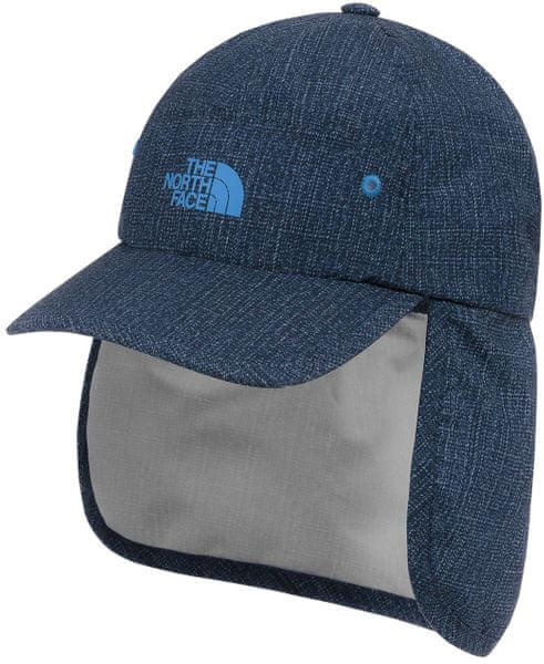 The North Face Youth Party Back Hat Cmic blue denim rain print