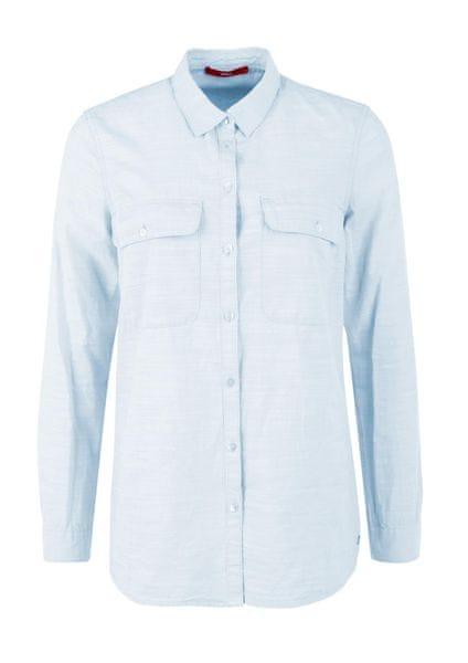 s.Oliver dámské košile 38 modrá