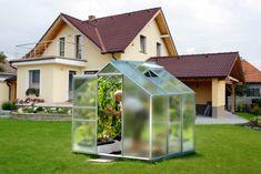 VITAVIA skleník VITAVIA VENUS 3800 matné sklo 4 mm strieborný