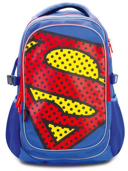 BAAGL šolski nahrbtnik s pončem Superman – POP
