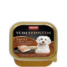 Animonda V.Feinsten CORE hovädzie, jogurt + vločky pre psy 11 x 150g