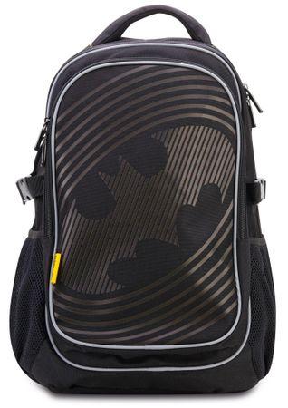 BAAGL Školský batoh s pončom Batman – SONIC