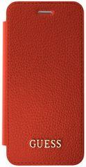 Guess Flipový kryt IriDescent (Apple iPhone 6/6S/7), červená