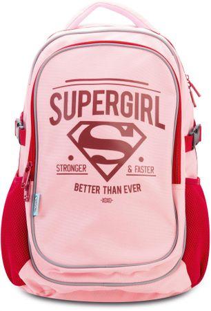 BAAGL Školní batoh s pončem Supergirl – ORIGINAL  2824927e0e