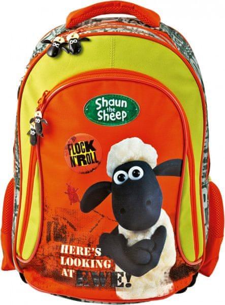 BAAGL Školní Batoh Ovečka Shaun velký