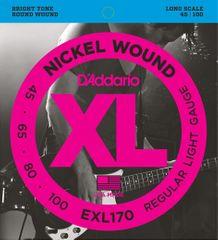 Daddario EXL170 Struny pro baskytaru