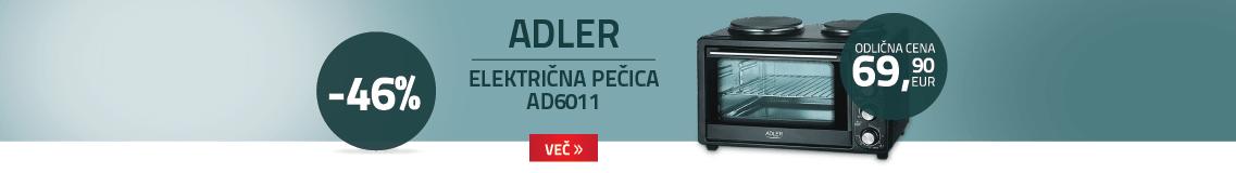 Adler električna pečica AD6011
