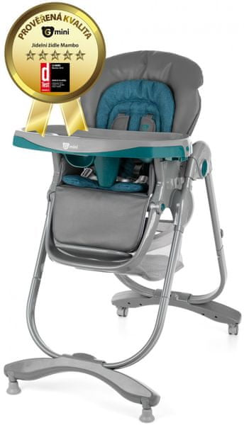 G-mini Jídelní židle Mambo, Lazulit
