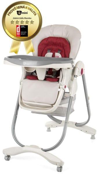 G-mini Jídelní židle Mambo, Ruby