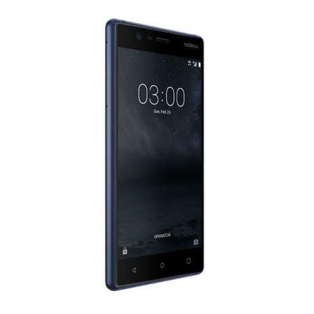Nokia 3, Dual Sim, niebieski