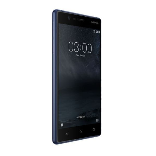 Nokia 3 Dual SIM, modrá