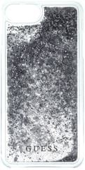 Guess Kryt Liquid Glitter Hard (Apple iPhone 6/6S/7), stříbrná