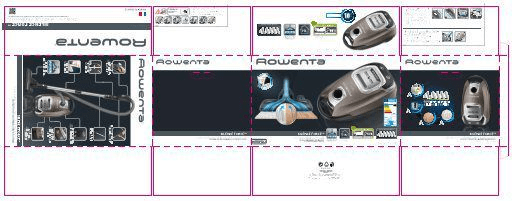 Rowenta RO6486 Silence Force 4A Full Care + 5 let záruka na motor!