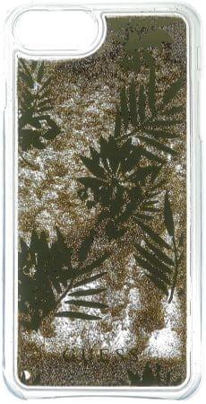 Guess etui Liquid Glitter Hard Apple iPhone 6/6S/7, ciemnozłoty