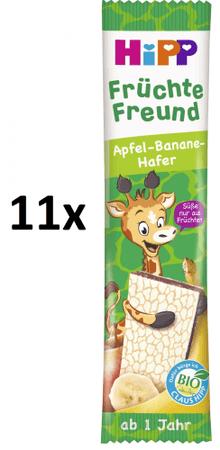HiPP BIO Oplatka Banán-Jablko 11 x 23 g