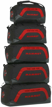 Mammut torba Cargon, črno-rdeča, 110L
