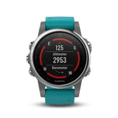 Garmin Smartwatch 5S Silver, Turquoise band