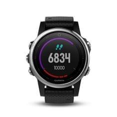 Garmin smartwatch fénix 5S Silver, Black band