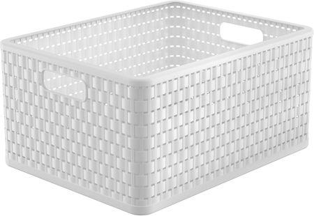 Rotho škatla za shranjevanje Country, 28 l, bela