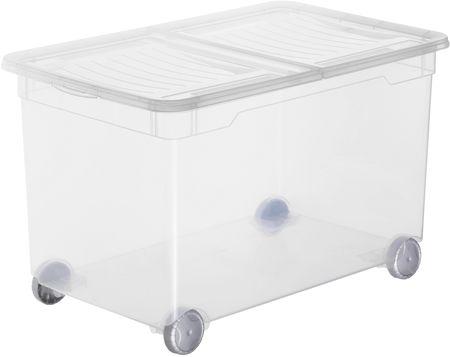 Rotho pudełko do przechowywania na kółkach Splito 46 l