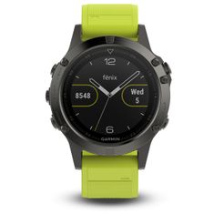 Garmin smartwatch fénix 5 Grey, Yellow band