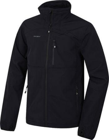 Husky moška softshell jakna Mari, črna, L
