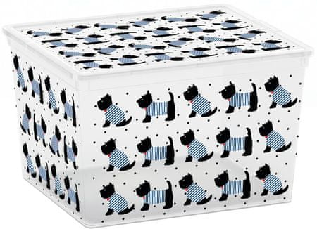 Kis pojemnik C-Box Cute Animals Cube, 27 l