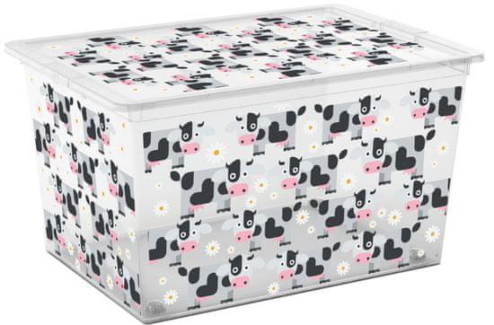 Kis škatla za shranjevanje C-Box Cute Animals, XL, 50 l