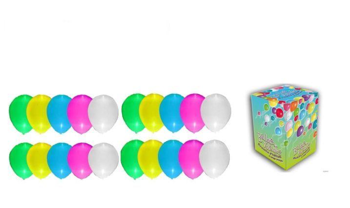 Helium sada SVÍTÍCÍ VELKÁ PÁRTY + 20 svíticích latexových balónků