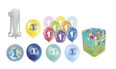 Helium sada 1.NAROZENINY VELKÁ OSLAVA KLUK + 20 latexových a fóliových balónků