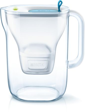 Brita vrč za vodo s filtrom Style MaxtraPlus 2,4 l, moder